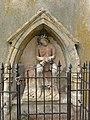 Bazailles (Meurthe-et-M.) église, statue Christ au liens.JPG