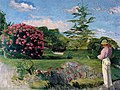 Bazille, Frédéric ~ Le Petit Jardinier (The Little Gardener), c1866-67 oil on canvas Museum of Fine Arts, Houston.jpg