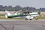 Beasts Company Pty Ltd (VH-IRY) Cessna U206F Stationair taxiing at Wagga Wagga Airport.jpg
