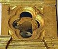 Beato angelico, pala strozzi della deposizione, con cuspidi e predella di lorenzo monaco, pilastrino dx 01.JPG