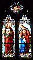 Beaumont-du-Périgord église transept sud chapelle vitrail.JPG