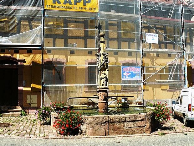 Monument historique à Beblenheim