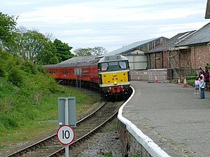 Bedale railway station - Image: Bedale Station(Mark Harrington)May 2005