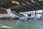 Beech 200C Super King Air 'ZS-PEA' (15416815654).jpg