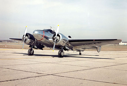 Beech 18/C-45 at the National Museum of the United States Air Force Beech C-45H Expeditor USAF.jpg