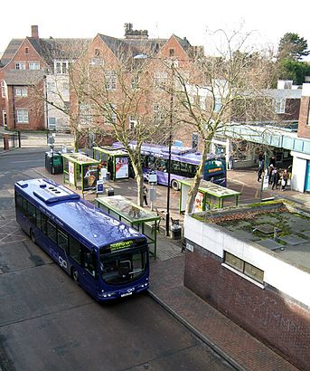 How to get to Beeston Bus Station with public transport- About the place