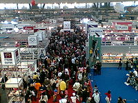 Belgrade Book Fair 52 Hall 1.jpg