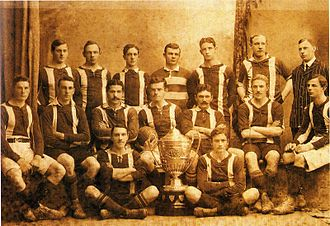 Belgrano Athletic Club - The Belgrano Athletic rugby union team that won its first championship in 1907