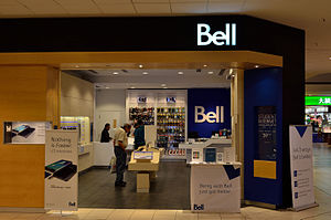 Bell Canada - A Bell Store in The Promenade Shopping Centre, Thornhill, Ontario