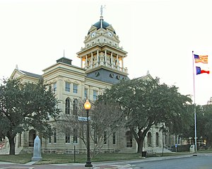 Bell County, Texas - Image: Belton Courthouse (1)