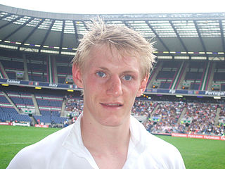 Ben Cairns Scottish rugby union player