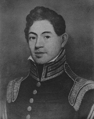 Benjamin Kendrick Pierce - Pierce at the time of his 1817 wedding