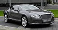 Bentley Continental GT (II) – Frontansicht (2), 30. August 2011, Düsseldorf.jpg
