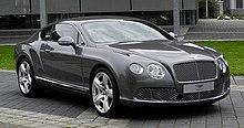 Bentley Continental GT (II) – Frontansicht (2), 30. August 2011, Düsseldorf.jpg