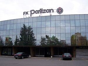 Partizan Stadium - Image: Beograd 7669