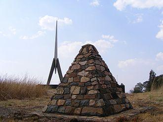 Battle of Bergendal - Image: Berg En Dal Memorial