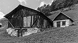 Bergtocht van Peio Paese naar Lago Covel (1,839 m) in het Nationaal park Stelvio (Italië). Oude boerenschuur 11.jpg