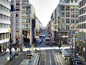 Path of Visionaries - View towards Friedrichstraße