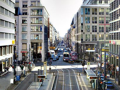 How to get to Friedrichstraße with public transit - About the place