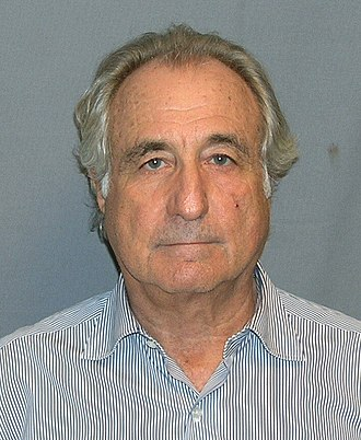 Bernard Madoff - U.S. Department of Justice photograph, 2009