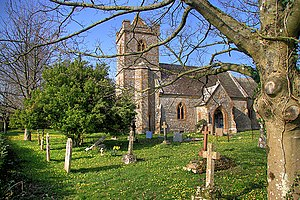 Bettiscombe - Image: Bettiscombe Church of St Stephen geograph.org.uk 1224315