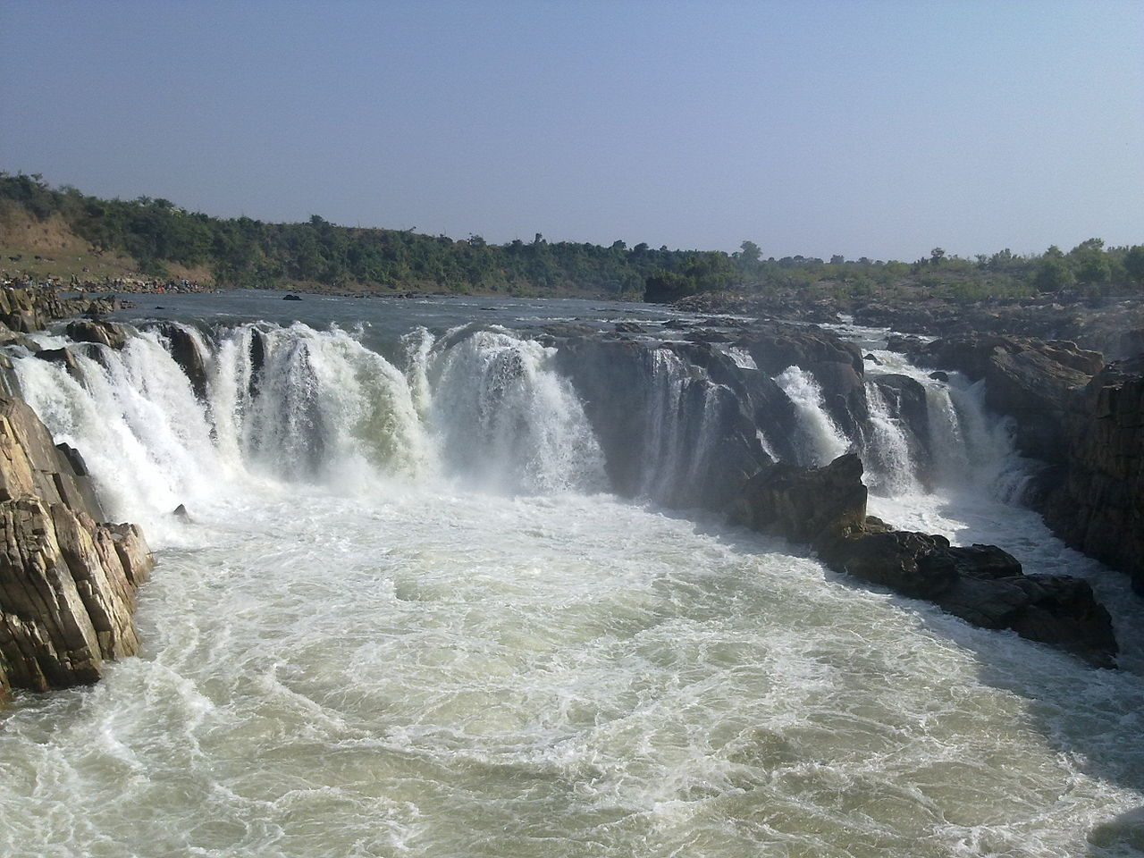 Bhedaghat Waterfall
