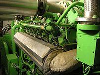 Biogas fuelled engine Biogas plant Strem