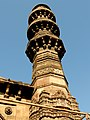 Bibiji's masjid Jhulta minar Gomtipur Ahmedabad 07.jpg