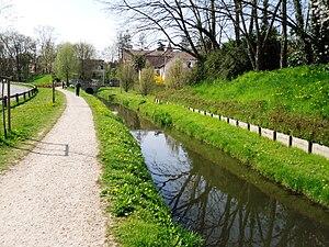 Bièvre (river) - Bievre at Massy