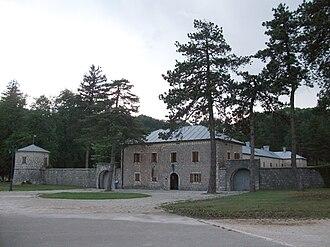 Cetinje - Biljarda - Museum of Petar II Petrović-Njegoš