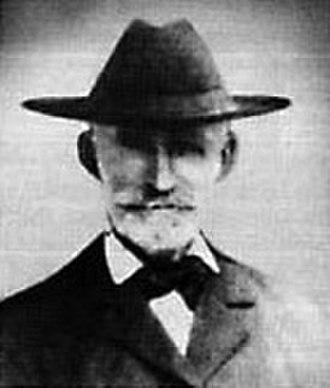 Edward Carey - Bill Cust, Carey's prospecting partner