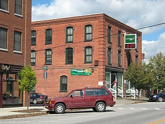 National Register of Historic Places listings in Franklin County, Vermont - Image: Billado Block