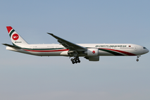 Biman Bangladesh Airlines Boeing 777-300ER, main presidential aircraft used by the president.