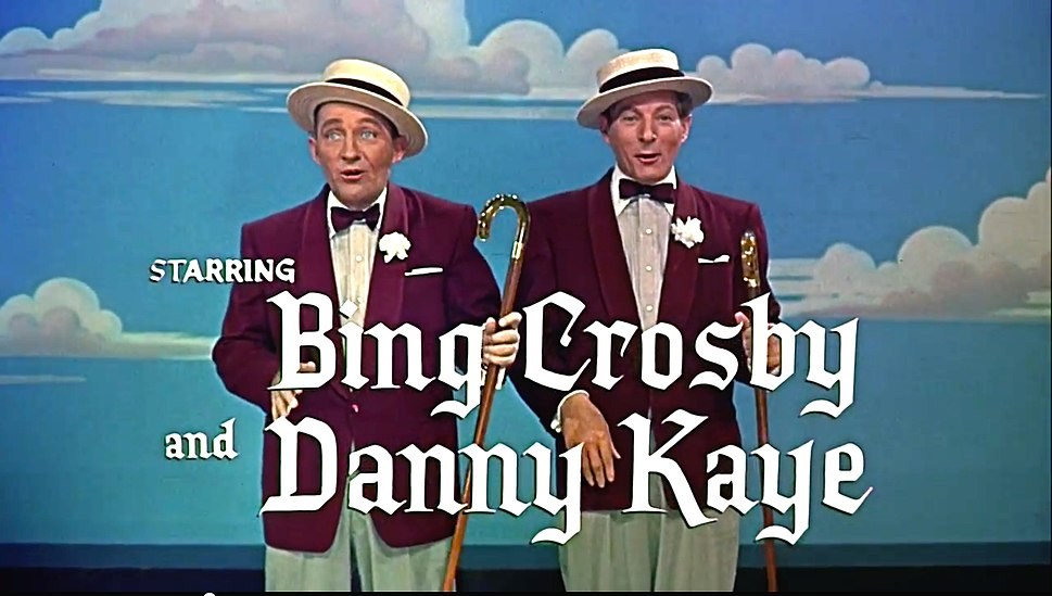 Bing Crosby and Danny Kaye in White Christmas trailer