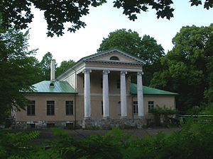 Bišumuiža - Bišumuiža manor house.
