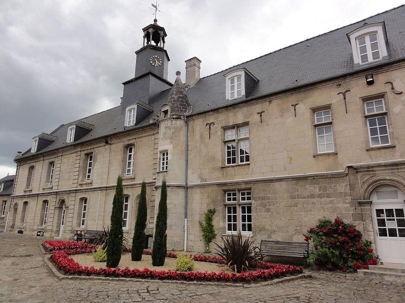 Blérancourt (Aisne) Hôtel de Fourcroy, bâtiment principal