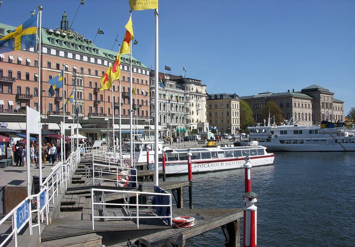webbkamera stockholm strömkajen