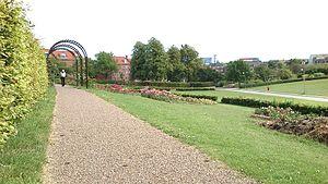 Aarhus Botanical Gardens - Image: Blomsterdalen