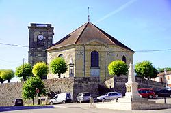 Blondefontaine - église Saint-Martin - extérieur.JPG