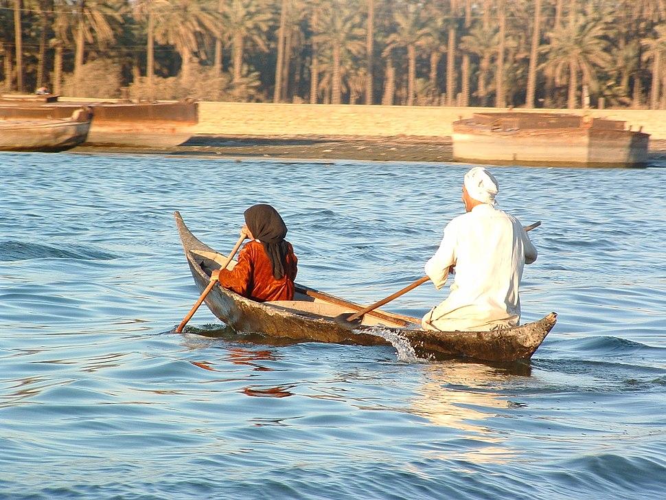 Boat on Euphrates