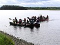 Boating on Assaroe lake, Ballyshannon - geograph.org.uk - 504773.jpg