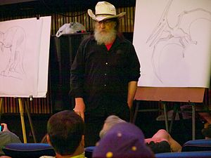 Robert T. Bakker - Bakker lecturing in 2011