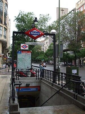 Lista Madrid Metro Wikipedia
