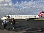 Boeing 717 at Mackay Airport.jpg