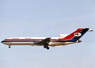 Yemenia - A former Yemenia Boeing 727-200