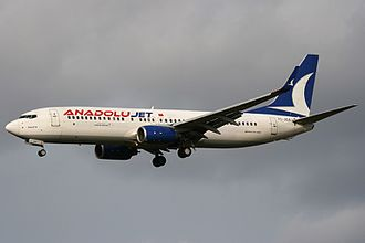 AnadoluJet - AnadoluJet Boeing 737-800