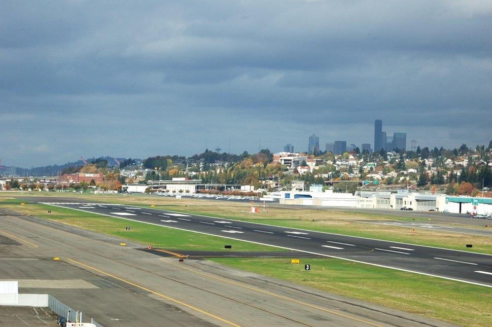 Boeing Field Runway