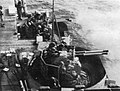 Bofors 40mm guns firing aboard USS Bairoko (CVE-115), circa in 1952.jpg