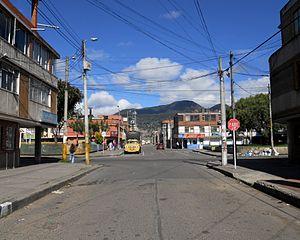 Espa ol bogot calle 24 sur con carrera 13 bis barrio for Barrio ciudad jardin sur bogota
