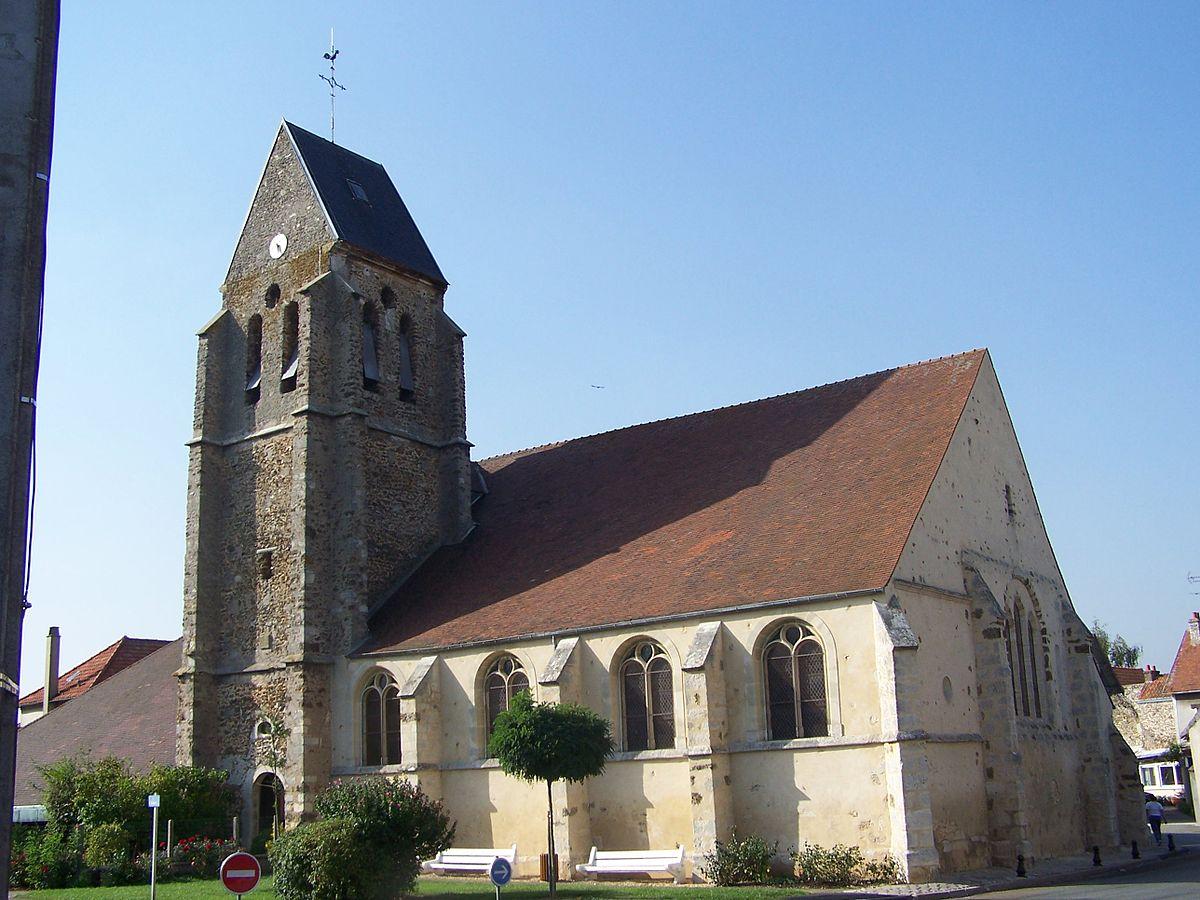 Église Saint Leu Saint Gilles de Bois d'Arcy u2014 Wikipédia # Mairie De Bois D Arcy